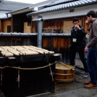 sake brewery visit