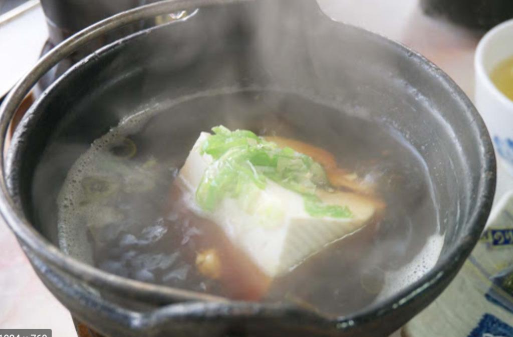 tofu in the hotpot